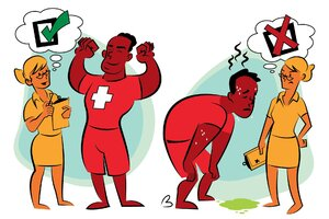 Why Selective Attention is Dangerous for Lifeguards