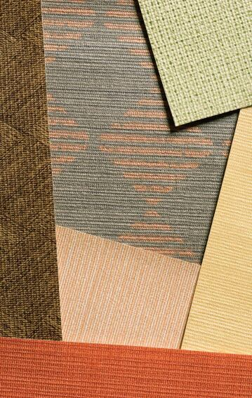 Organics wall covering collection from Wolf-Gordon