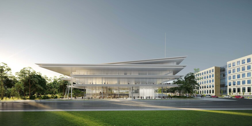 The Krause Building, designed by Renzo Piano Building Workshop in collaboration with OPN Architects.