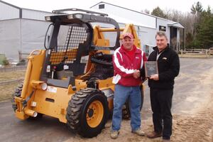 Case Donates Skid Steer Cutaway to Northwest Iowa Community College