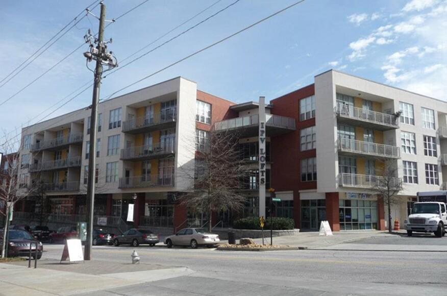 Inman park village lofts residential architect baldwin for Residential architects atlanta ga
