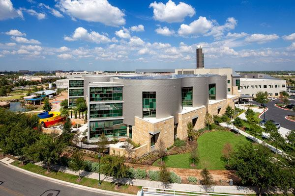 Dell Children's Medical Center of Central Texas W.H. and Elaine McCarty South Tower.