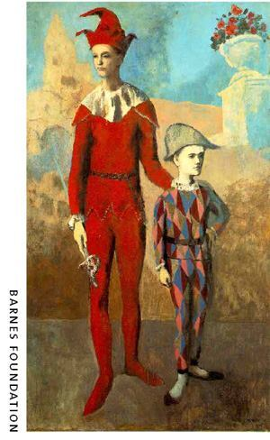 Pablo Picasso, Acrobat and Young Harlequin