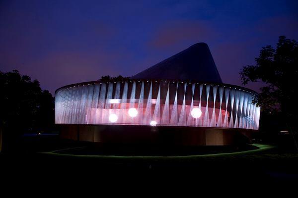Serpentine Gallery Pavilion 2007, designed by Olafur Eliasson & Kjetil Thorsen