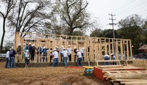 Habitat for Humanity's 33rd Jimmy & Rosalynn Carter Work Project will take place in Memphis' Uptown neighborhood later this month.