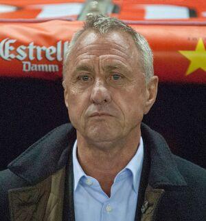 Johan Cruyff. Photo by Xavier Rondón Medina via Flickr