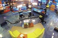 TV Studio gets Metallic Expoxy Floor