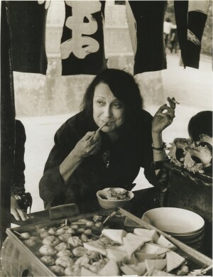 Lina Bo Bardi in Kamakura, Japan in 1978.