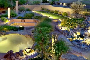 Outdoor lighting updates of pathways, waterfeatures and pools was a must-have for many respondents in the 2016 Houzz survey.