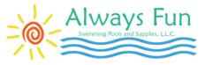 Always Fun Swimming Pools & Supplies L.L.C. Logo