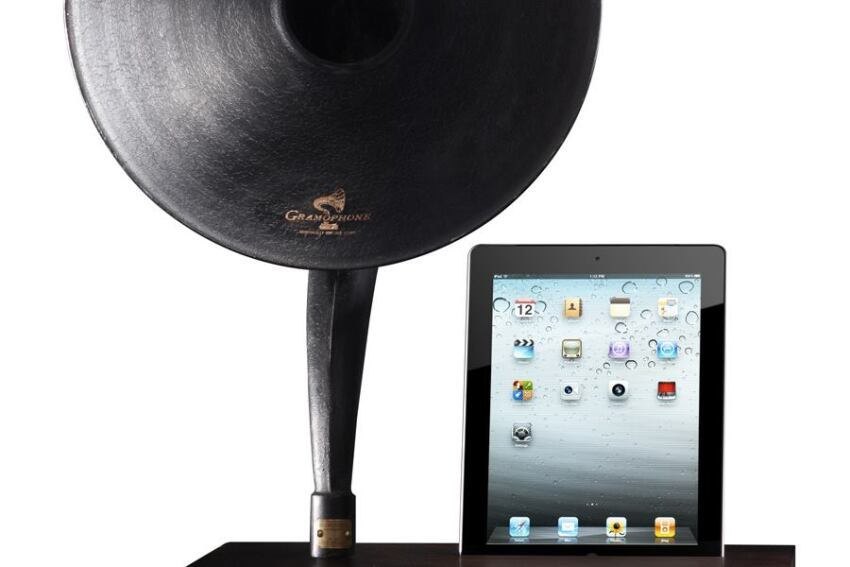 MP3 Gramophone Docking Station from Restoration Hardware