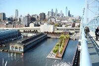 Philly builds park on top of pier