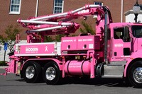 Concrete Pumping Goes Pink