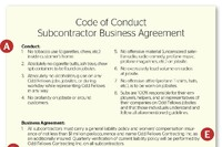 Playing by the Rules: Subcontractor Agreement