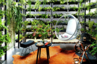 A Tiny Townhome With A 25-Foot Vertical Garden