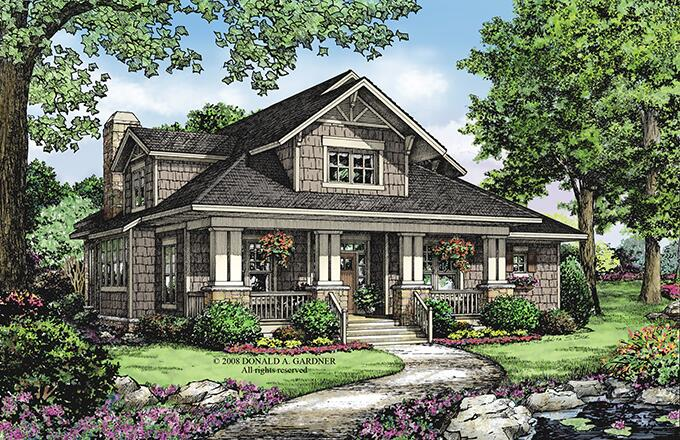 FourPlans: A Touch of Craftsman Style