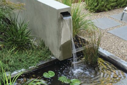 Masters of Design 2013 - Waterfeature