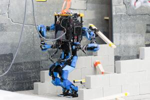 SCHAFT, a robot competing in the DARPA Robotics Challenge