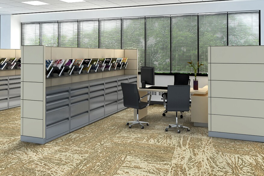 Six Dynamic Carpet Tiles For Offices Architect Magazine