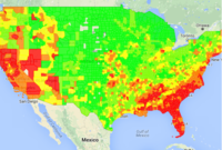 Where the Wildfires Are: A Heat Map