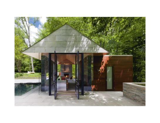 Nevis Pool and Garden Pavilion, Bethesda, Maryland, by Robert M. Gurney, FAIA