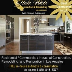 State Wide Construction & Remodeling, Los Angeles Logo
