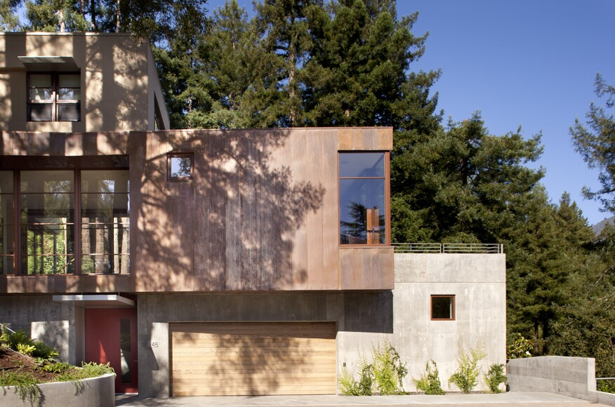 Mill valley residence custom home magazine ccs for Mill valley architects