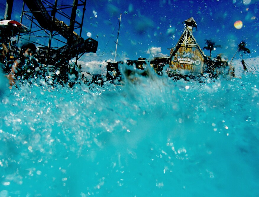 Waterpark at Elitch Gardens in Denver, Colo.