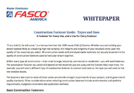 Construction Fastener Guide: Types and Uses A Fastener for Every Use, and a Use for Every Fastener