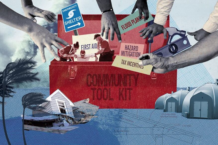 Communities build toolkits for planning and preparation.