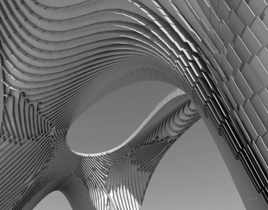 zaha hadid 39 s parametric installation at sci arc