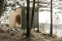 Fantastical Tapered Entrance, Tubakuba Mountain Retreat