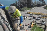 Alcatraz Shotcrete Repairs