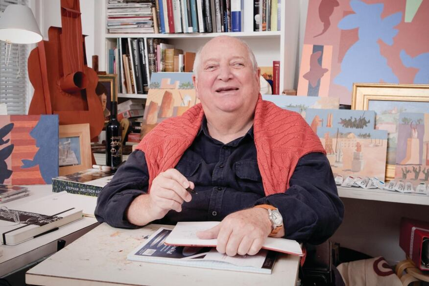 Michael Graves, pictured in his studio in 2011.