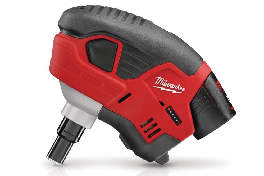 Handy Work: Milwaukee M12 Cordless Palm Nailer