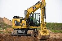 Compact Radius Wheeled Excavators