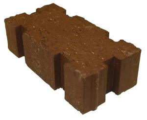 Boral Bricks. These 4-inch-by-8-inch permeable clay pavers are available in standard and super permeable profiles. The standard pavers have 1/4-inch-wide joints for an 8% void area. Incorporating six notches around their edges, the super permeable pavers have a 12% void area for more rapid drainage. The void spaces can be filled with small stones appropriate for drainage purposes. 800.526.7255. www.boralbricks.com.
