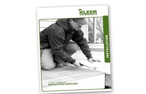 Kleer Installation Instructions