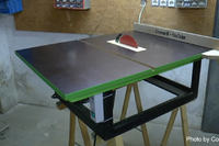 A Home-Made Jobsite Table Saw