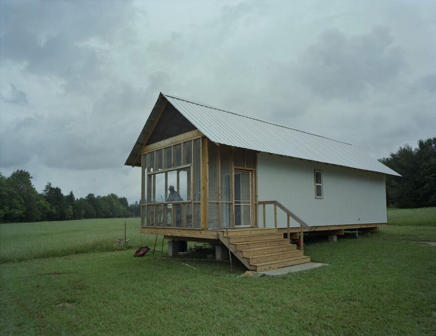 Houses in the 20K House Product Line feature a large, screened-in porch that is passively ventilated.