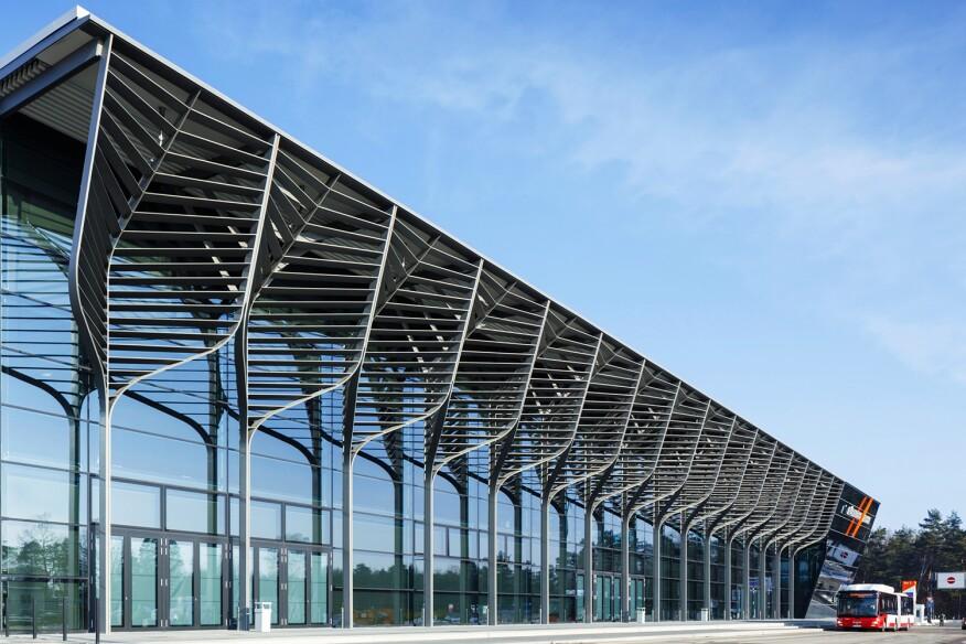 Messehalle 3A NuernbergMesse; Exhibition Hall 3A , Exhibition Center Nuremberg; Zaha Hadid Architects