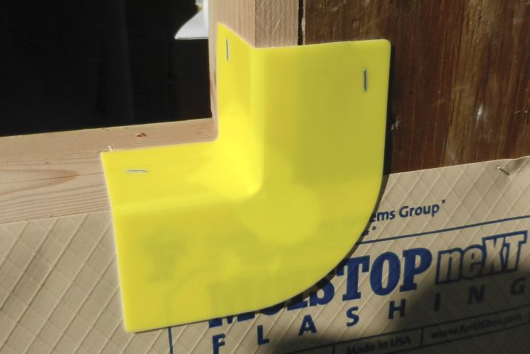 New Barrier Offers Easy-to-Use Protection for Window Corners