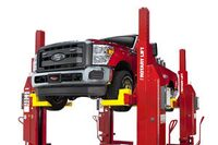 Rotary Lift updates and relocates mobile column lift battery charger