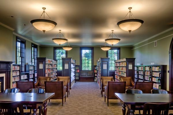 Georgetown Neighborhood Library, renovated by Martinez+Johnson Architecture.