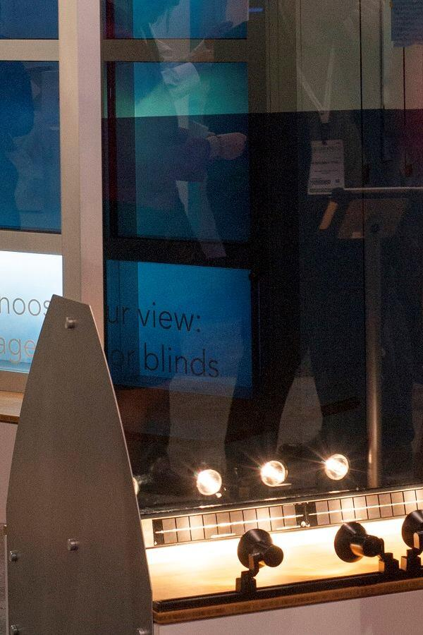 Sage Electrochromics attracted a lot of attention from the Greenbuild attendees with SageGlass Simplicity, the first electrochromic glazing product that runs on solar power. Because the self-contained units no longer require wiring to a power source, they may ease the process of installing electrochromic glass on existing buildings.
