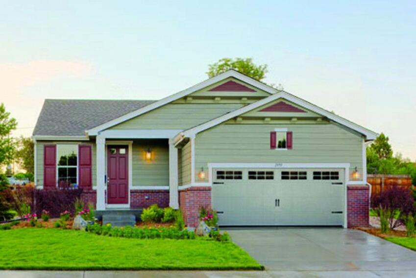 A Front-Loaded Garage Needn't  Be So Large
