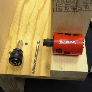 Diablo Hole Saws with quick attach mandrel