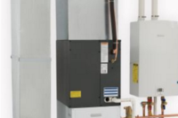 New Air Handler Works With Tankless Water Heater to Warm Homes Efficiently