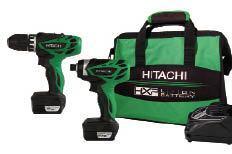 Hitachi KC10DFL Subcompact Combo Kit