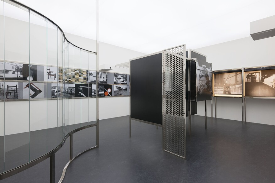 """Raum der Gegenwart (Room of the Present)"" (2009, constructed from plans and documents from 1930)"